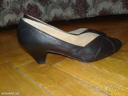 Продаются, с большой скидкой, новые женские натуральные (не кожзам) кожаные туфл. Киев, Киевская область. фото 1