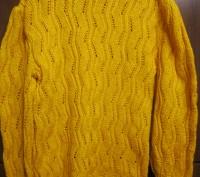 Вязаный свитерок без пятен светло-рыжего цвета в хорошем состоянии. Конотоп, Сумская область. фото 3