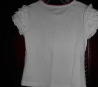 1) белая футболка на 3 года,с рисунком,ZARA KIDS,цена-45гр. длина-32см. ш.плеч. Киев, Киевская область. фото 5