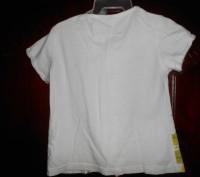 1) белая футболка на 3 года,с рисунком,ZARA KIDS,цена-45гр. длина-32см. ш.плеч. Киев, Киевская область. фото 3