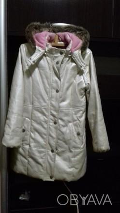 Очень стильное ,утеплен ноет флисом,непродуваемое и непромокаемое пальто.Глубоки. Киев, Киевская область. фото 1