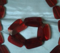 Добавьте яркого цвета в свой образ! Яркий и очень страстный цвет ожерелья из пол. Бердянск, Запорожская область. фото 2