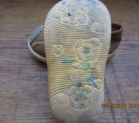 Мокасины унисекс. Материал Кожа + дермантин. Отличное состояние. Размер 15, по с. Днепр, Днепропетровская область. фото 4