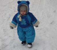 Конверт на овчине для новорожденных, в дальнейшем переделывается на комбинезон. . Днепр, Днепропетровская область. фото 2