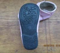 Босоножки с закрытым носком лакированные, размер 18, по стельке 15 см.На правом . Днепр, Днепропетровская область. фото 4