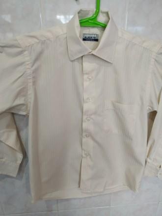 Нарядная рубашка на 6-8 лет. Дніпро. фото 1