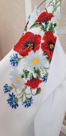 Продається вишита блузка із спідничкою для дівчинки!. Львів. фото 1