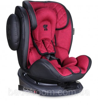 Автокресло LORELLI Aviator + sps + isofix 0+/1/2/3 (0-36kg) black&red. Київ. фото 1