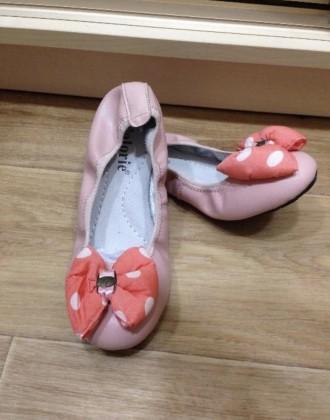 Продам новые балетки кожа ортопедические 31,32,33,36 размер. Харків. фото 1