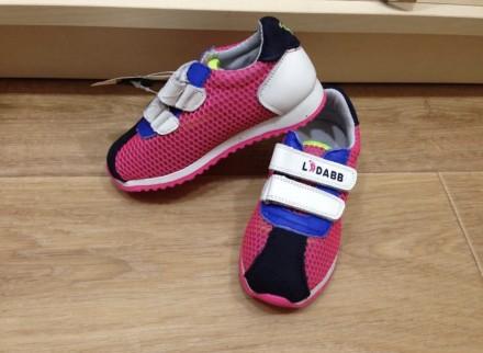 Продам новые кроссовки кожаные малиновые 25 размер, стелька 15,9 см. Харків. фото 1