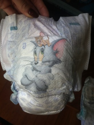 Продам очень удобные подгузники-трусики производства ЕС. боковинки хорошо тянутс. Сумы, Сумская область. фото 5