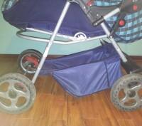 Продам дитячу коляску АДАМЕКС 2 в 1 (Польша), ширина коліс 58 см (легко заходить. Трускавец, Львовская область. фото 5
