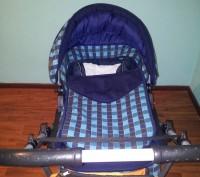Продам дитячу коляску АДАМЕКС 2 в 1 (Польша), ширина коліс 58 см (легко заходить. Трускавец, Львовская область. фото 3