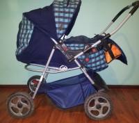 Продам дитячу коляску АДАМЕКС 2 в 1 (Польша), ширина коліс 58 см (легко заходить. Трускавец, Львовская область. фото 2