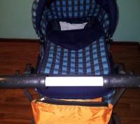 Продам дитячу коляску АДАМЕКС 2 в 1 (Польша), ширина коліс 58 см (легко заходить. Трускавец, Львовская область. фото 4