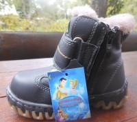 Недорого кожанные ботинки для мальчиков на цегеечке. Вверх полностью кожа, внутр. Винница, Винницкая область. фото 3