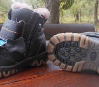 Недорого кожанные ботинки для мальчиков на цегеечке. Вверх полностью кожа, внутр. Винница, Винницкая область. фото 4
