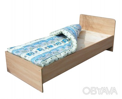 Кровать изготавливается из ДСП  Основание - жесткое (фанера)  Соединения карка. Кропивницкий, Кировоградская область. фото 1