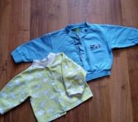Отличные кофточки для ребенка до годика. Каждая-по 55 грн. 1) Трикотажная кофто. Сумы, Сумская область. фото 3
