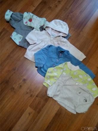 Отличные кофточки для ребенка до годика. Каждая-по 55 грн. 1) Трикотажная кофто. Сумы, Сумская область. фото 1