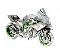 Сборная модель из металла Metal Earth IconX Kawasaki Ninja Кавасаки. Киев. фото 1