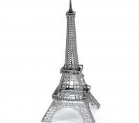Сборная модель из металла Metal Earth IconX Эйфелева башня. Киев. фото 1