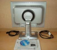 """Срочно продам монитор 21"""" Samsung SyncMaster 214T TFT silver, в хорошем состояни. Киев, Киевская область. фото 3"""