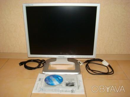 """Срочно продам монитор 21"""" Samsung SyncMaster 214T TFT silver, в хорошем состояни. Киев, Киевская область. фото 1"""