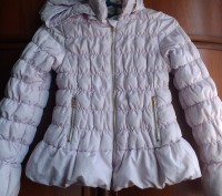 Куртка для девочки , в идеальном состоянии , змейки все рабочие, бледно- розовог. Харьков, Харьковская область. фото 7