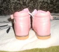 "Кожаные ботинки для девочки ""шалунишка ортопед"" .Каблук Томаса, жесткий задник, . Ні́кополь, Дніпропетровська область. фото 6"