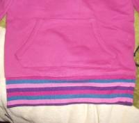 Стильна, очень теплая толстовка- туника для девочки 4-5 лет. Длина рукава - 36 с. Никополь, Днепропетровская область. фото 3