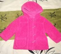 Текстильная, теплая куртка для девочки весна - осень. Дефектов нет, состояние хо. Никополь, Днепропетровская область. фото 2