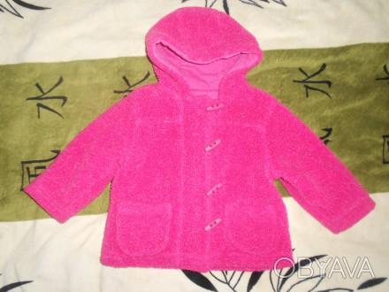 Текстильная, теплая куртка для девочки весна - осень. Дефектов нет, состояние хо. Никополь, Днепропетровская область. фото 1