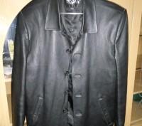 Пиджак кожанный 50-52 р. Мелитополь. фото 1