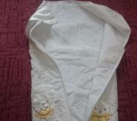 Конверт для новорожденного,производитель Турция(фирма Unlu Ceyiz)-отличное качес. Ромны, Сумская область. фото 3