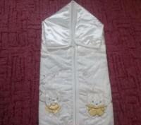 Конверт для новорожденного,производитель Турция(фирма Unlu Ceyiz)-отличное качес. Ромны, Сумская область. фото 2