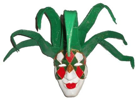 Венецианская маска папье-маше Джокер. Ручная работа.. Чернигов. фото 1