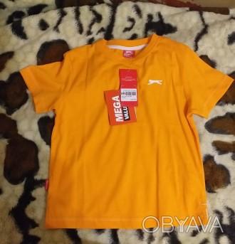яркая спортивная футболка на 3-4 года,рост 98-104 см, slazenger