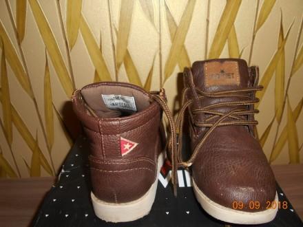 Демисезонные ботиночки фирмы SOVIET, размер С10, наш 28, стелька 17 см  Состоян. Миргород, Полтавская область. фото 4