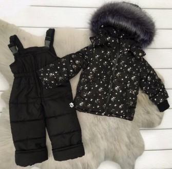 Зимний комбинезон 2-ка со съемным мехом  Цена 950 грн Зимняя куртка и полукомб. Нежин, Черниговская область. фото 6