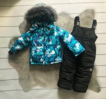 Зимний комбинезон 2-ка со съемным мехом  Цена 950 грн Зимняя куртка и полукомб. Нежин, Черниговская область. фото 9
