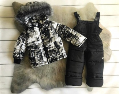 Зимний комбинезон 2-ка со съемным мехом  Цена 950 грн Зимняя куртка и полукомб. Нежин, Черниговская область. фото 10