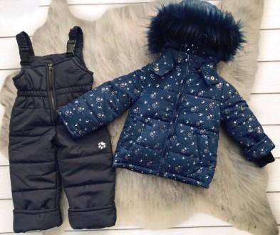 Зимний комбинезон 2-ка со съемным мехом  Цена 950 грн Зимняя куртка и полукомб. Нежин, Черниговская область. фото 7
