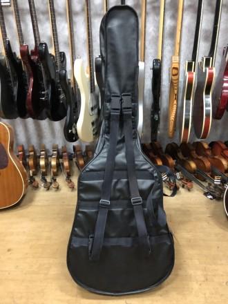 Длина 110 см Ширина по деке 45 см Чехол для акустической гитары, внешний вид . Чернигов, Черниговская область. фото 3