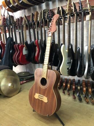 Производитель: Болгария Тип инструмента: Акустическая Гитара Тип струн: Мета. Чернигов, Черниговская область. фото 4