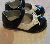 Кожаные детские туфли Шалунишка для девочки размер 24. Запорожье. фото 1