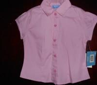 розовая блузка на 5 лет,приталенная,новая с бирками,отличное качество,куплена в . Киев, Киевская область. фото 4