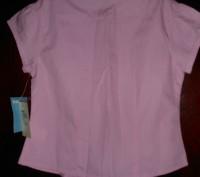 розовая блузка на 5 лет,приталенная,новая с бирками,отличное качество,куплена в . Киев, Киевская область. фото 3