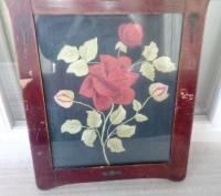 Вышивка старинная Роза. Запоріжжя. фото 1