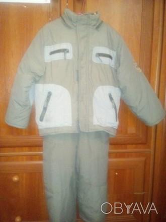 Куртка з жилеткою,довжина рукава 40см,довжина штанів 65 см. Є фіксуючі ризинки,з. Київ, Київська область. фото 1